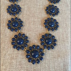 Kate Spade Navy  Blue Statement Necklace
